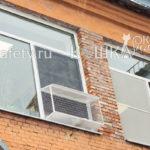 Кошачий балкончик для офисного кота