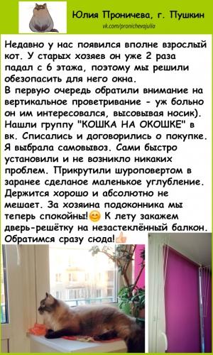 ОТЗЫВ-2-Юлия ограничитель антикошка