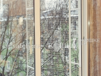 Вольер на окно для кошек