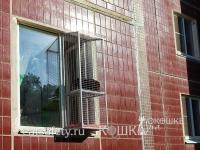 Вольер на окно для кошки