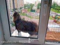 антикошка вольер выгул на окно (3)